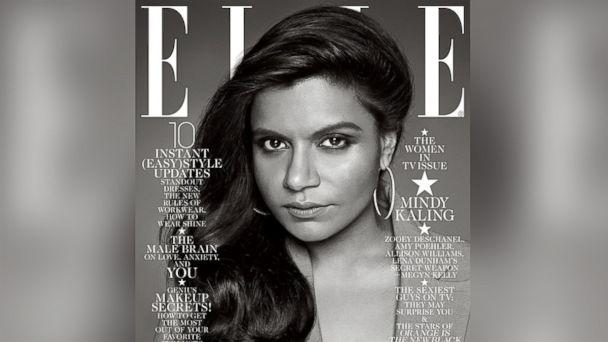 HT elle magazine mindy kaling sk 140108 16x9 608 Mindy Kaling Defends Elle Cover