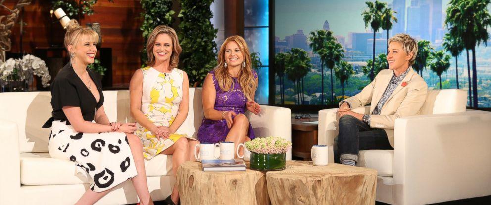 """PHOTO: The cast of """"Fuller House,"""" appear on """"The Ellen DeGeneres Show,"""" Feb. 9, 2016."""