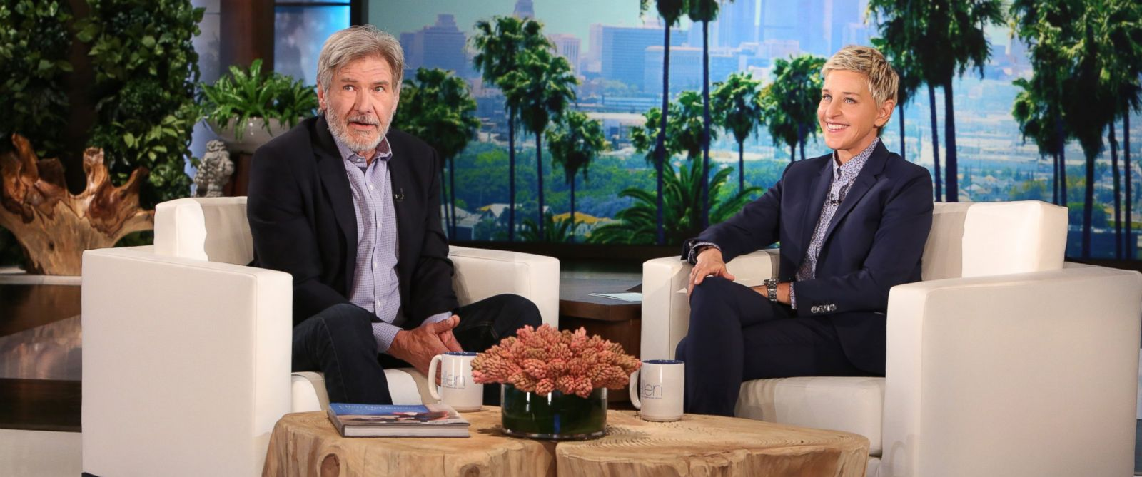 PHOTO: Harrison Ford talked to Ellen Degeneres about how they are now casting for a new ?young Hans Solo.