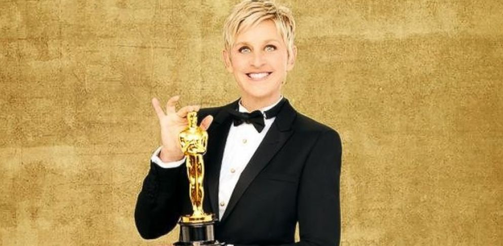 PHOTO: Ellen DeGeneres will return to host the Oscars for a second time, March 2, 2014, at the Dolby Theatre, in Hollywood, Calif.