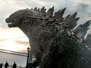 PHOTO: A scene from the 2014 movie Godzilla is seen here.