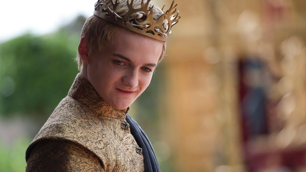 PHOTO: Jack Gleason as King Joffrey in a scene from the fourth season of Game of Thrones.