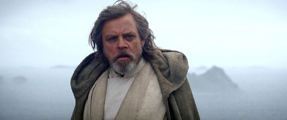 "PHOTO: Mark Hamill as Luke Skywalker in a scene from ""Star Wars: The Force Awakens."""
