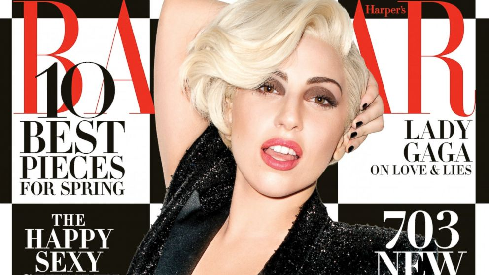 PHOTO: Lady Gaga is on the cover of Harpers BAZAARs March 2014 issue, on stands Feb. 18, 2014.