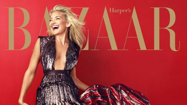 HT harpers mag Kate hudsons ml 131112 16x9 608 Kate Hudson on Designer Duds: I Cant Afford to Buy That Stuff