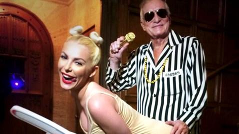 HT hefner jtm 131031 wblog Which Celebs Miley Cyrus Costume Is Best?