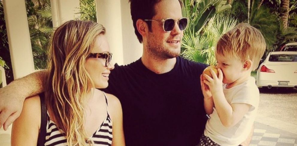 """PHOTO: Hilary Duff posted this image on Instagram with this caption: """"#modernfamily #vacation #juicypear,"""" Feb. 14, 2014."""