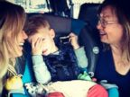 Hilary Duff Reunites with Her Mom and Son Luca