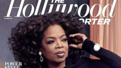PHOTO: Oprah on the December cover of The Hollywood Reporter.