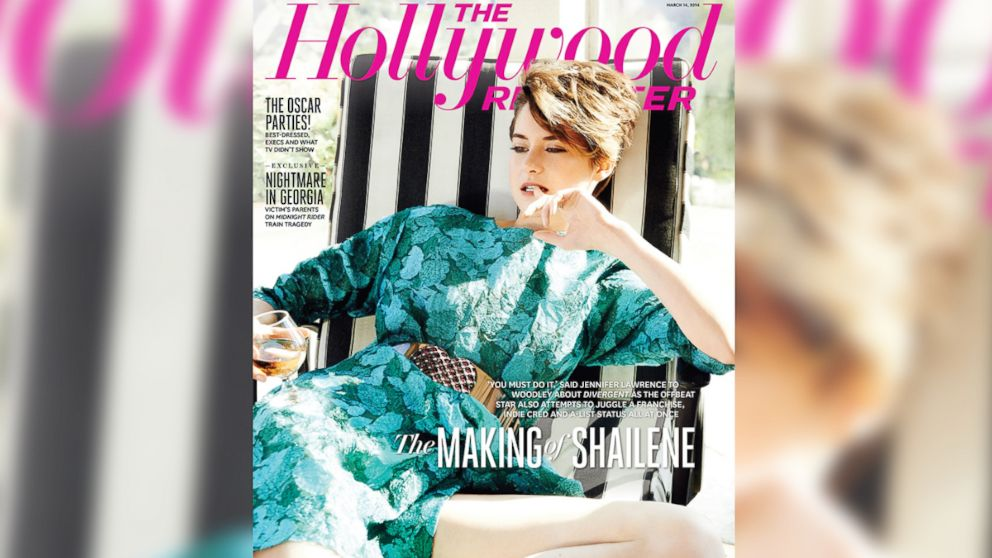 PHOTO: Shailene Woodley graces the March 2014 cover of The Hollywood Reporter.