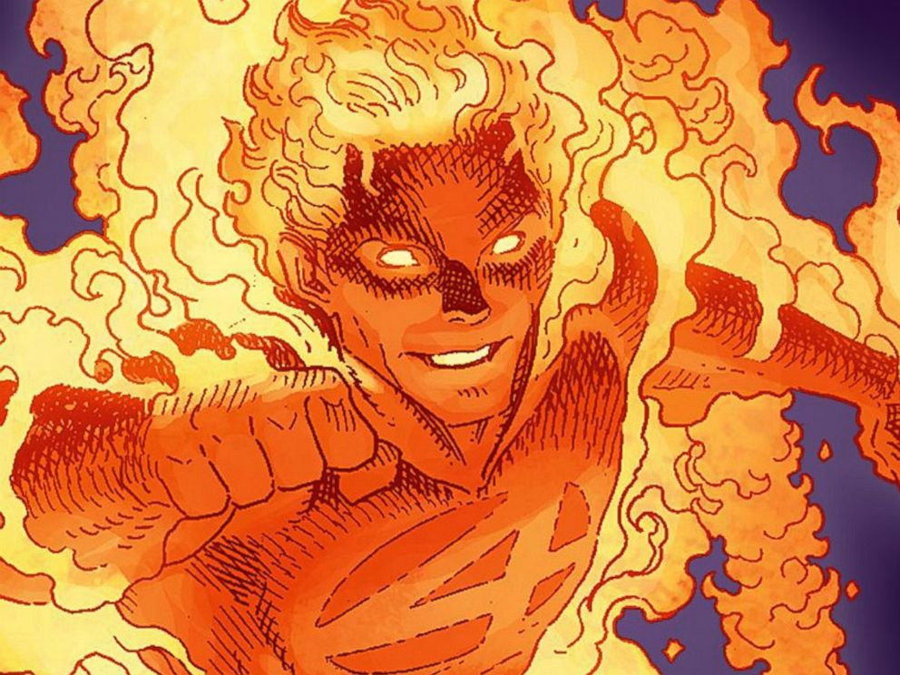 PHOTO: Fantastic Four member, The Human Torch
