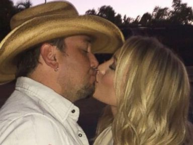 See the Huge Diamond Ring Jason Aldean Gave Brittany Kerr