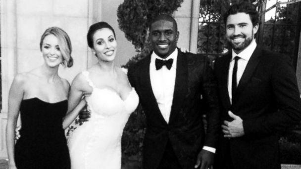 HT jenner bush wedding jef 140714 16x9 608 Awkward! Brody Jenner Attends Wedding of Kim Kardashians Ex
