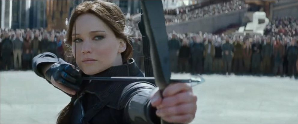 "PHOTO: Jennifer Lawrence appears in the trailer teaser of ""The Hunger Games: Mockingjay Part 2."""
