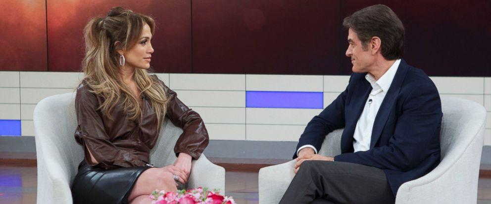 "PHOTO: Jennifer Lopez appears on ""The Dr. Oz Show."""
