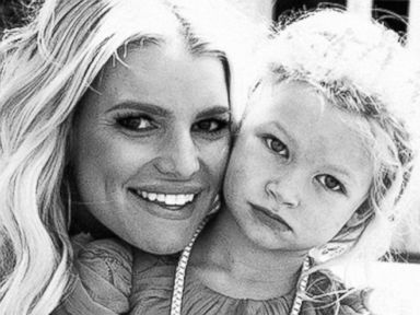 Jessica Simpson Shares a Photo with Daughter Maxi