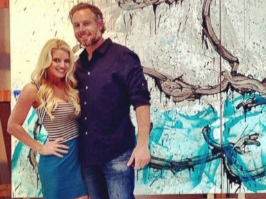 Photos: Jessica Simpson Celebrates Four Years With Eric Johnson