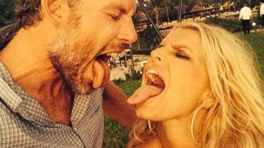 Jessica Simpson Shares a Honeymoon Photo with Eric Johnson