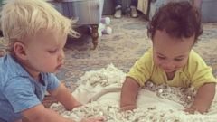 Jessica Simpsons Son Ace Has a Playdate with Cacee Cobbs, Rocco
