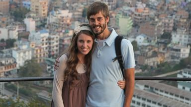 "PHOTO: Jill Duggar, star of ""19 Kids & Counting,"" with Derick Dillard."