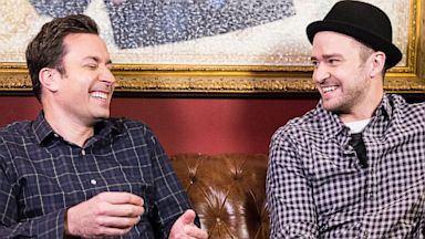 PHOTO: Jimmy Fallon and Justin Timberlake