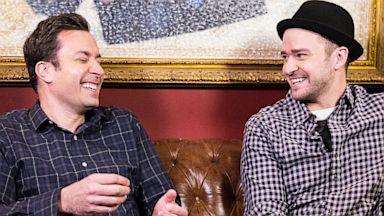 PHOTO: Jimmy Fallon and Justin Timberlake
