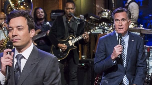 HT jimmy fallon mitt romney slow jam the news instagram jt 140125 16x9 608 Mitt Romney Slow Jams With Jimmy Fallon, Takes Selfies With Zach Braff