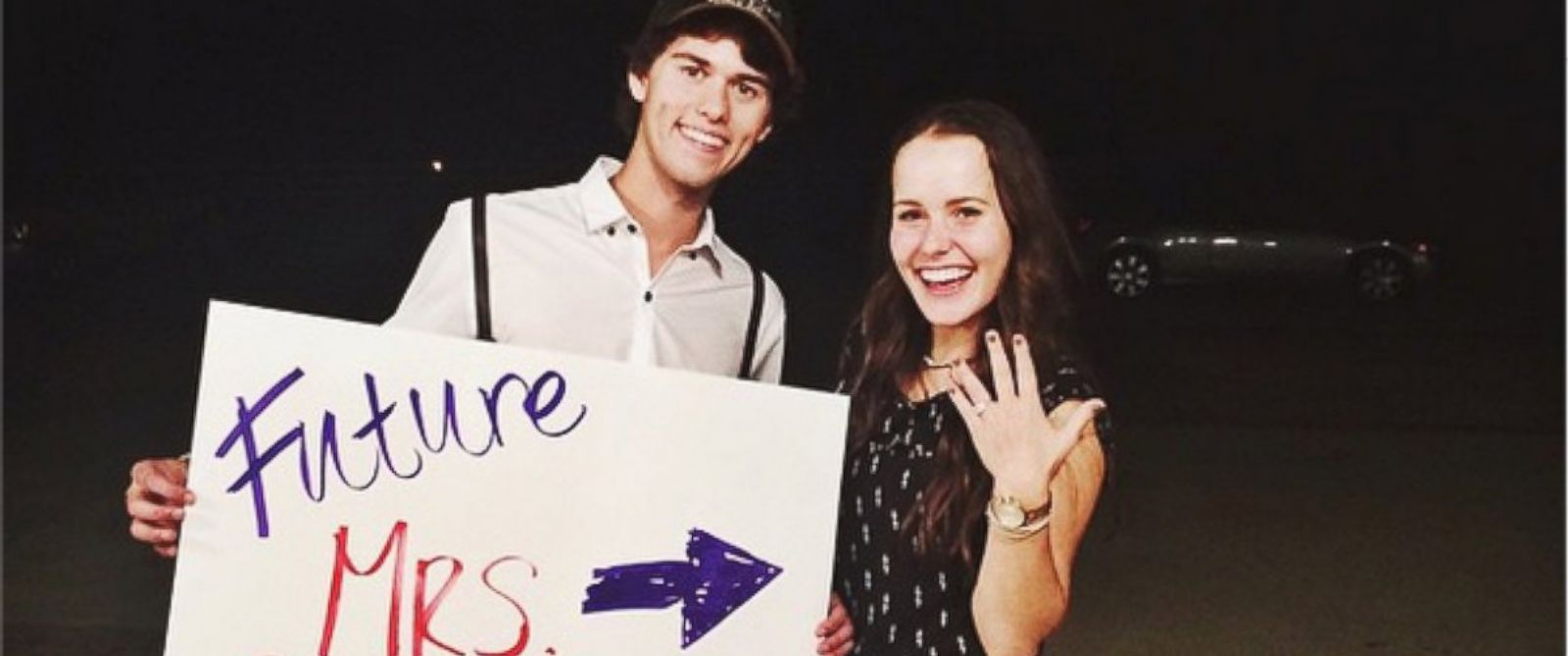 PHOTO: John Luke Robertson posted this photo of himself and his fiance Mary Kate McEacharn