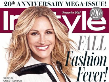 PHOTO: Julia Roberts on the Sept. 2014 cover of InStyle magazine.