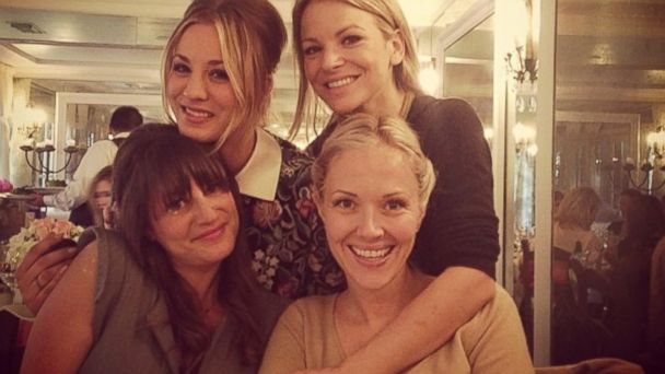 HT kaley cuoco girls weekend 2 jtm 131125 16x9 608 Check Out Kaley Cuocos Pre Wedding Celebrations