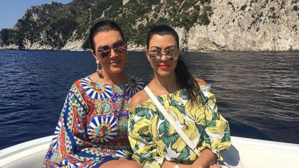 PHOTO: Kris Jenner and Kourtney Kardashian are seen in this photo posted to Kardashian's Instagram account, Sept. 4, 2016.