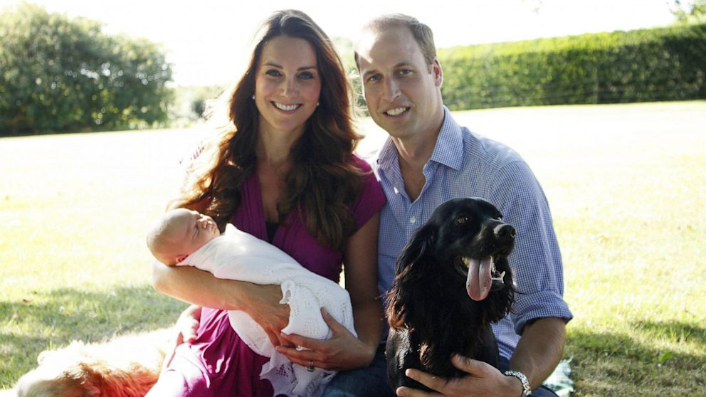 Royal Baby Photos: First Official Images of Prince George