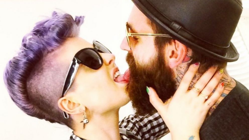 "PHOTO: Kelly Osbourne posted this image to her Instagram on July 7, 2014 with the caption, "" #TasteGood @rickifuckinhall."""