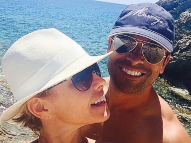 PHOTO: Kelly Ripa posted this photo with husband Mark Consuelos to Instagram, Aug. 27, 2014, with the caption, Happy hump day to my beloved @instasuelos ! Thank you for making everyday feel like hump day!