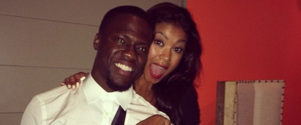 "PHOTO: Kevin Hart posted this photo Instagram on Aug. 18, 2014 with the caption, ""She said YEEEEESSSSS....."""