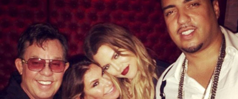 "PHOTO: Khloe Kardashian shared this image on her Instagram, June 4, 2014; ""My rockstar, my only star , my North Star"""