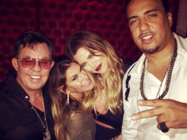 Khloé Kardashian and French Montana Party With Jennifer Lopez