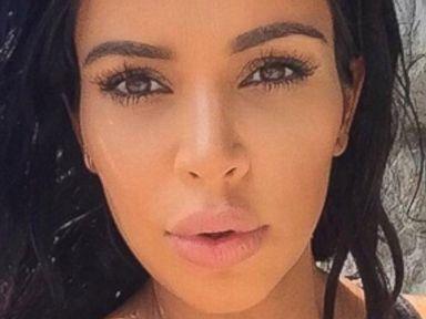 Kim Kardashian Shares a Photo of Her Pregnancy Lips