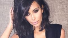 Kim Kardashian Rocks a Risque Look