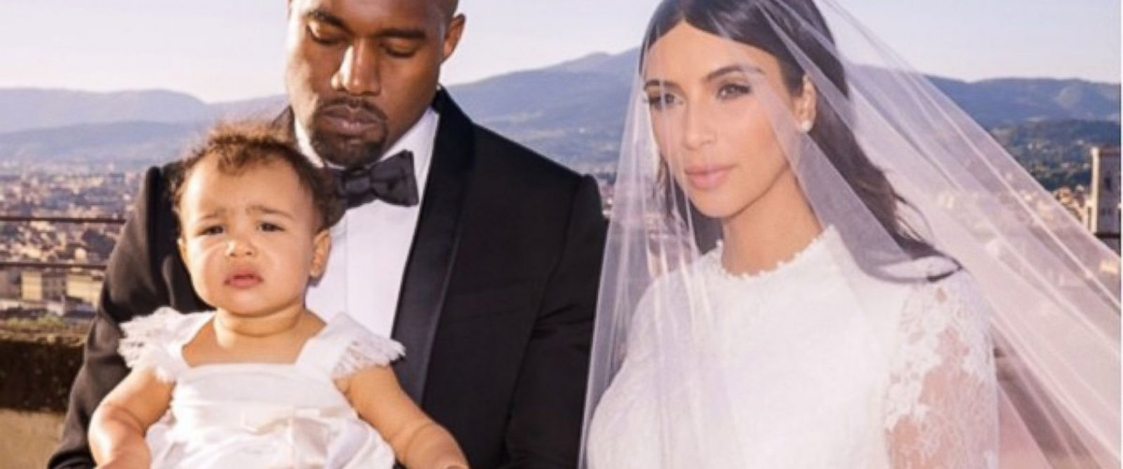 """PHOTO: Kim Kardashian posted this wedding photo to her Instagram, June 11, 2014, with the caption, """"My everything."""""""