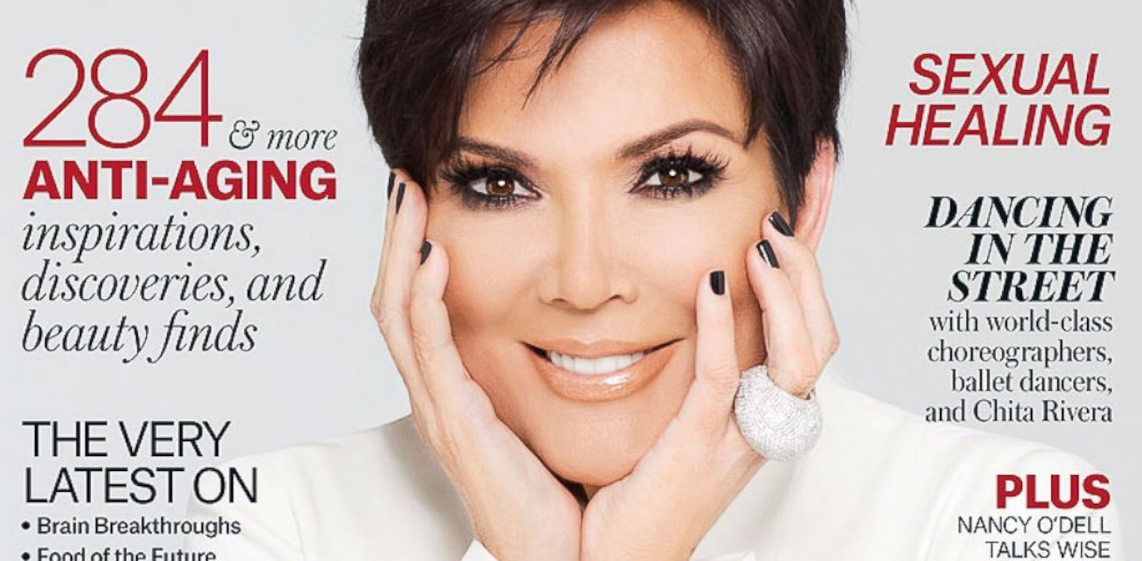 PHOTO: Kris Jenner appears on the latest issue of New You magazine.