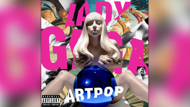 PHOTO: Lady Gaga's latest album, Artpop.