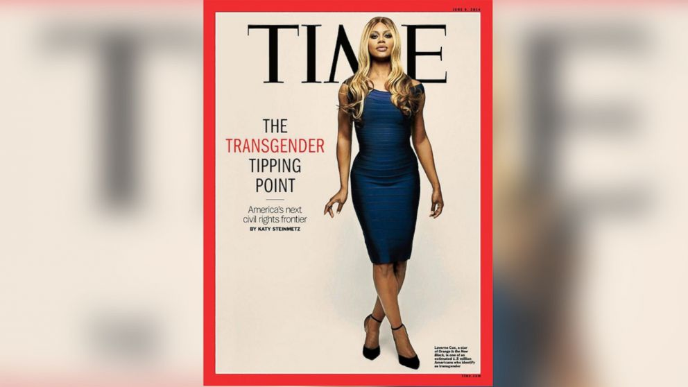 PHOTO: Orange is the New Black star Laverne Cox made the the cover of Time as the face of The Transgender Tipping Point.