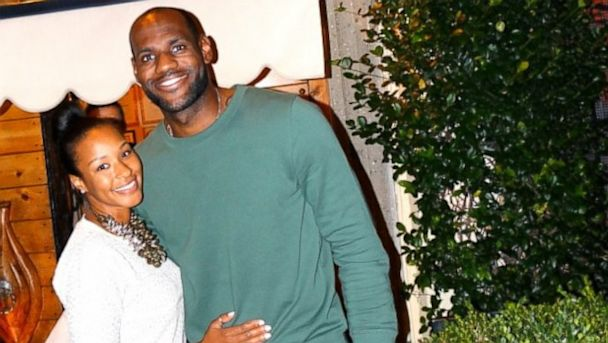 PHOTO: LeBron James and Savannah Brinson enjoy dinner at Antica Pesa in Rome.