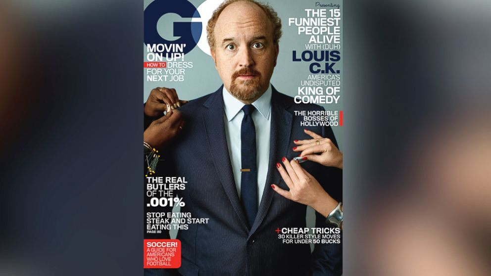 PHOTO: Louis C.K., on the cover of the May 2014 issue of GQ.