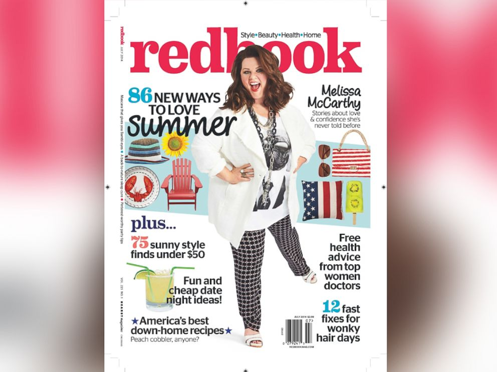 PHOTO: Melissa McCarthy is on the cover of Redbook.