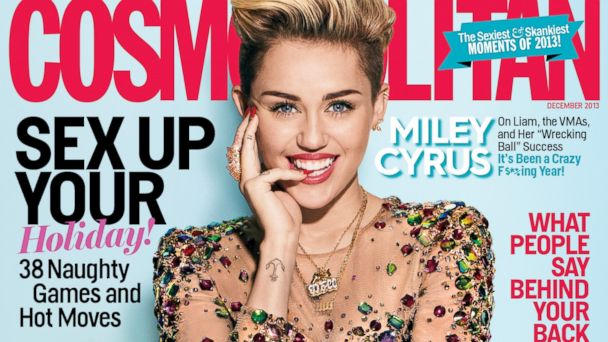 HT miley cyrus cosmo cover tk 131028 16x9 608 Is This The Most Self Promotional Miley Cyrus Interview Yet?