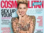 PHOTO: MIley Cyrus on the cover of Cosmo, December 2013.