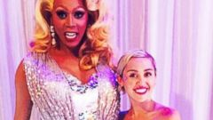 Miley Cyrus Meets RuPaul