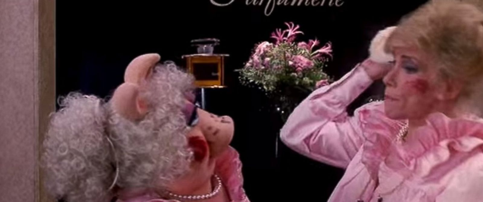 PHOTO: Miss Piggy and Joan Rivers are seen here in the Muppet Movie.